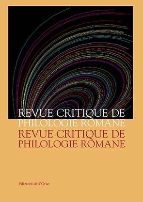 Revue Critique de Philologie Romane