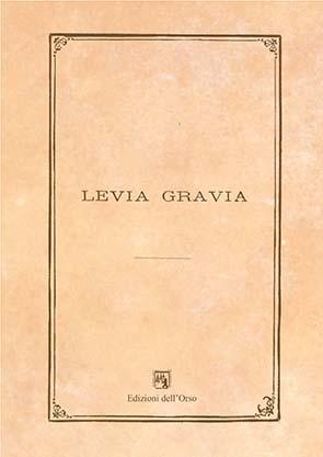 Levia Gravia
