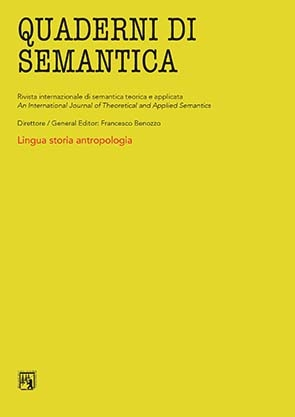 Quaderni di Semantica