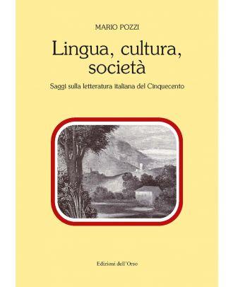 Lingua, cultura, società