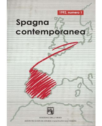 Spagna contemporanea - Anno I (1-1992)