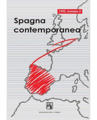 Spagna contemporanea - Anno I (2-1992)