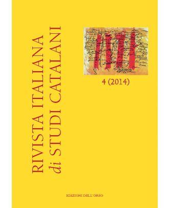 Rivista italiana di studi catalani N. 4-2014