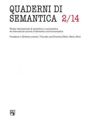 Quaderni di Semantica 02-2014