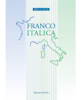Franco-Italica Supplemento 1