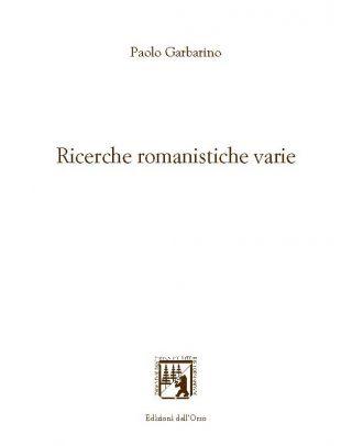 Ricerche romanistiche varie