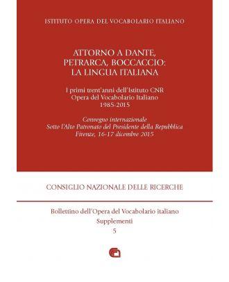 Bollettino dell'Opera del Vocabolario italiano - Supplemento 5