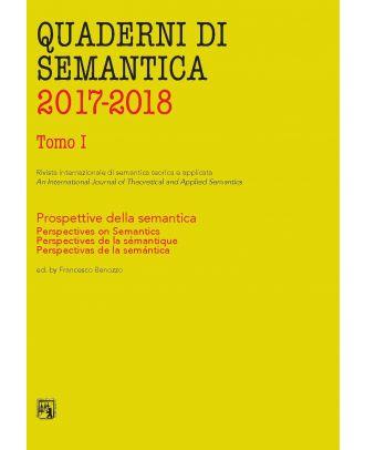 Quaderni di Semantica 03-04/2017-2018 (Nuova serie)