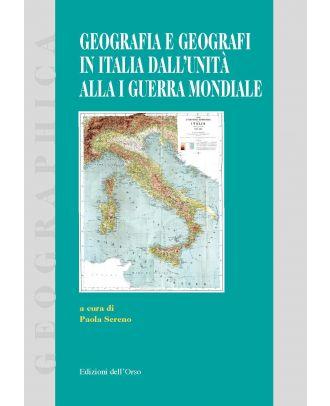 Geografia e geografi in Italia dall'Unità alla I Guerra Mondiale