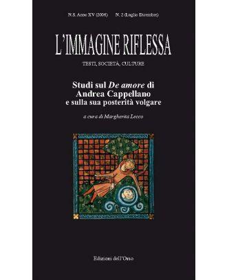 L'immagine riflessa - Testi, società, culture II-2006 (luglio-dicembre)