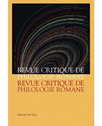 Revue Critique de Philologie Romane - 6