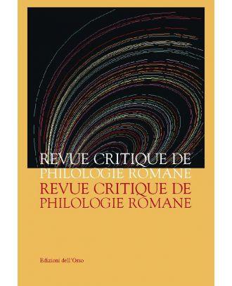Revue Critique de Philologie Romane - 7
