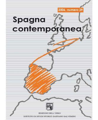 Spagna contemporanea - Anno XV (29-2006)