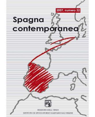 Spagna contemporanea - Anno XVI (32-2007)